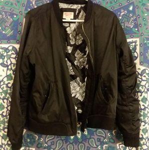 Mossimo Black Bomber Jacket